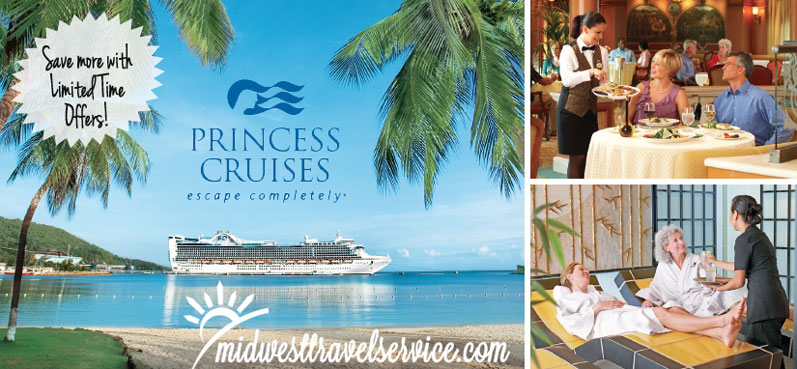 princess Cruise Limited Time Offers
